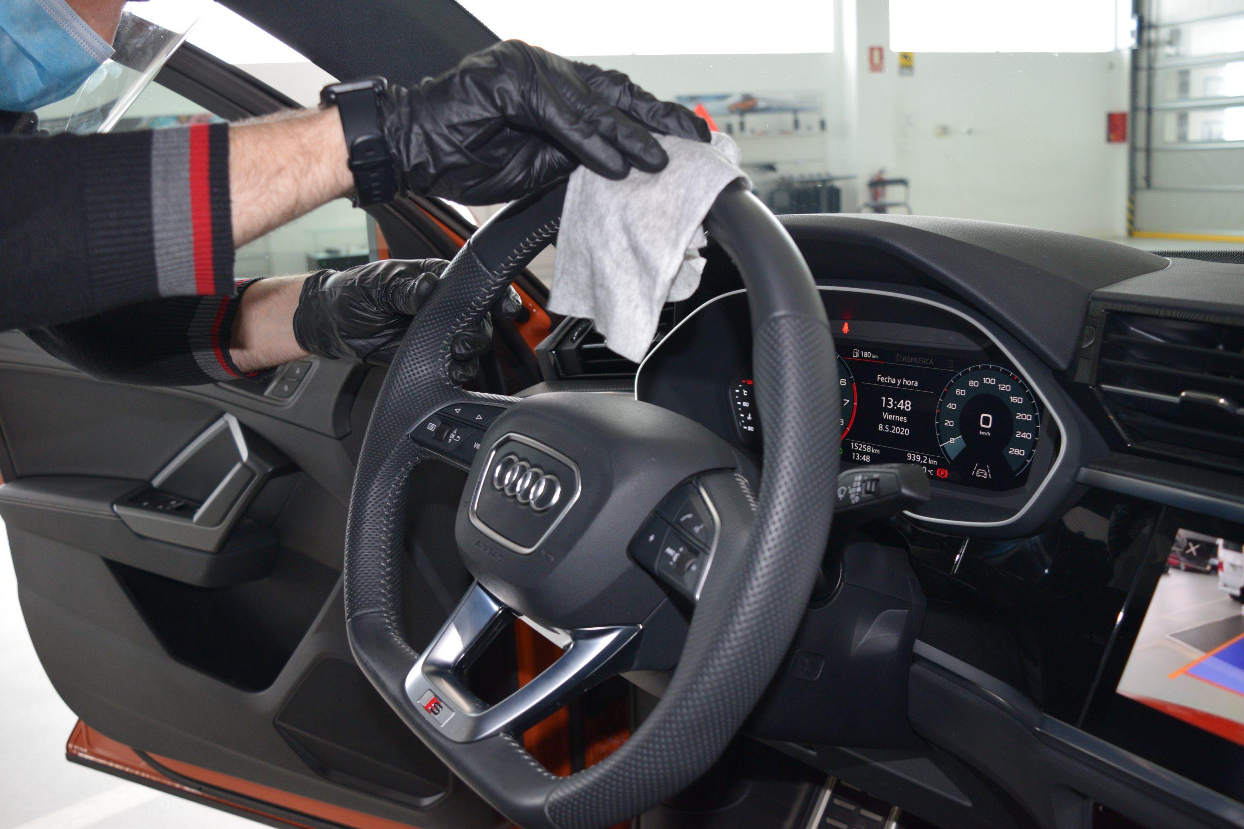 higienización vehiculos